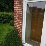 Austausch der Fenster und Tür (Öffnung nach Außen)