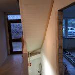 Neuverkleidung und Restaurierung der Treppe